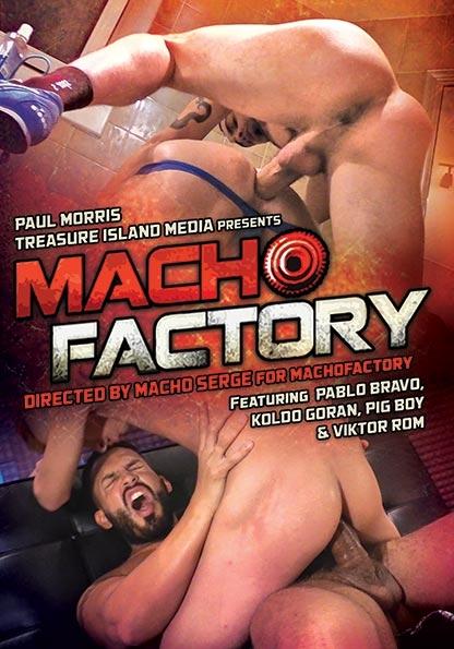 Machofactory in Alejandro Rubio