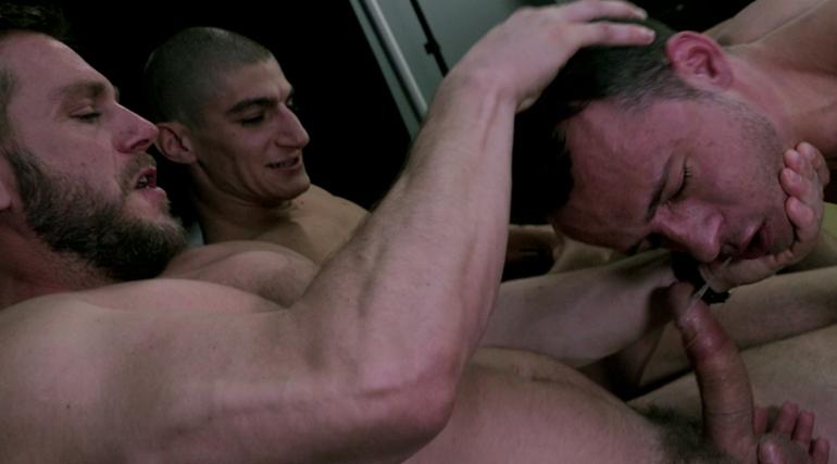 Nate Grimes, Hans Berlin & Aiden Ward in Aiden Ward