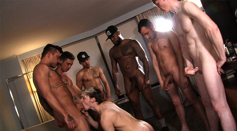 Alex Killborn Gangbang in Esteban