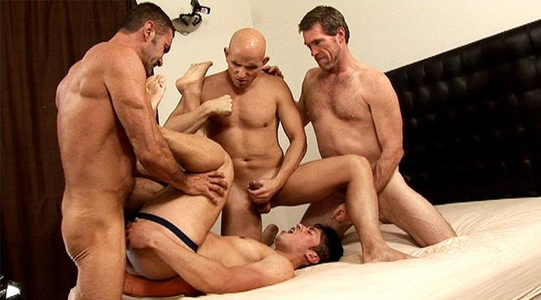 Lito Cruz, JD, Calvin & BJ Slater in Calvin