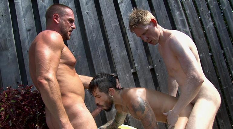 Meat Rack 4 Pre-Release Scene - Draven T... in Hans Berlin
